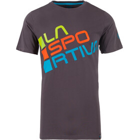 La Sportiva Square Shortsleeve Shirt Men grey